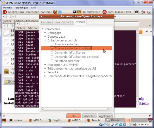 Configuring shortcut installation