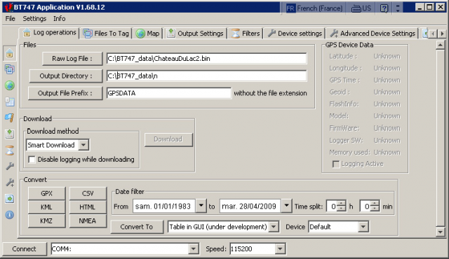 Scroll example
